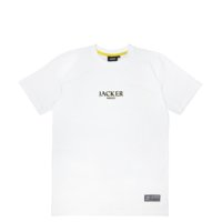 omer skateshop atlas t shirt white front