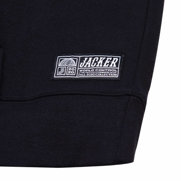 omer skateshop world tour hoodie black detail