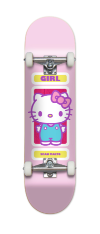 omer skateshop girl complete x sanrio th malto