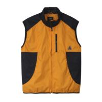 omer skateshop huf jacket peak tech vest persimmon