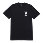 omer skateshop playboy october s s tee black ts black x x