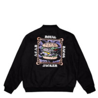 omer skateshop royal bacon jacket back x