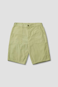 omer skateshop fat short olive sateen x
