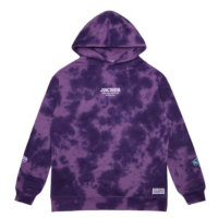 omer skateshop money makers hoodie purple tie dye front x