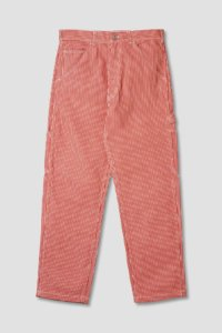 omer skateshop og painter pant red hickory x