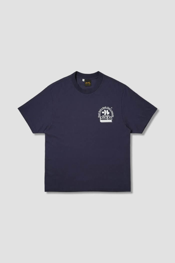 omer skateshop remedy ss tee navy x