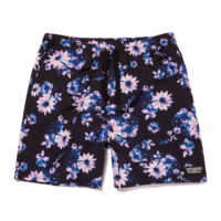 omer skateshop huf short dazy easy black