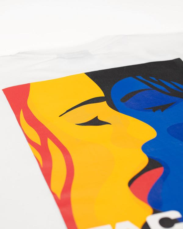omer skateshop color passion tee white detail x