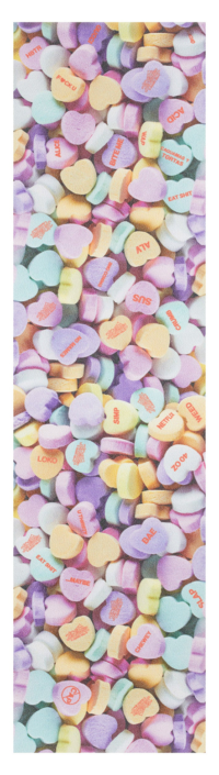 omer skateshop holiday grip plaque valentine candy hearts x